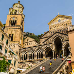 Cathedral of Amalfi. (Photo by Ian Rees)