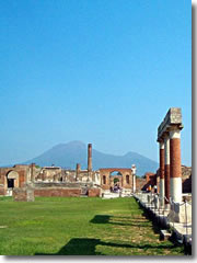 The forum at Pompeii