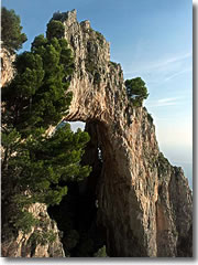 The Arco Naturale on Capri