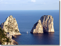Cruises and boat charters in Capri