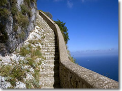 A trail on Capri