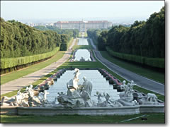 The Palace of Caserta in Italy