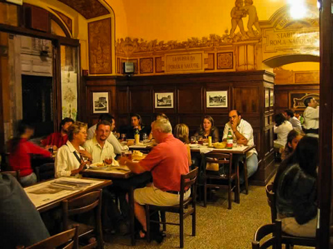 Birreria Peroni Restaurant in Rome, Italy; Photo courtesy of Birreria Peroni