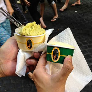 Gelato (ice cream) in Rome