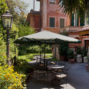 The Hotel Aventino in Rome, Italy