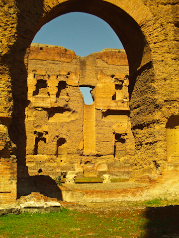 Arches at the Baths of Caracalla