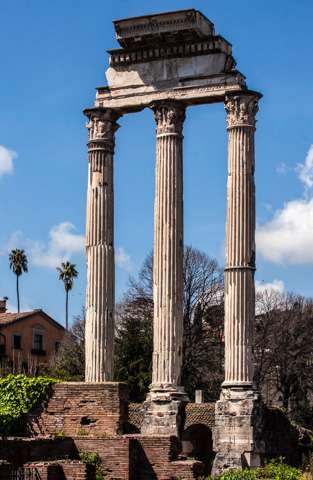 Temple of Castor and Pollux, Roman Forum, Rome