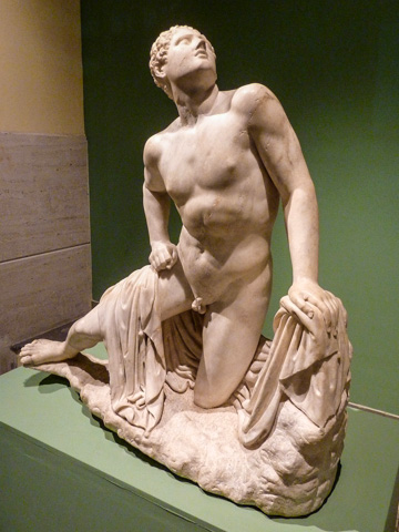 Wounded Niobidin Rome's Art Center Acea - Centrale Montemartini