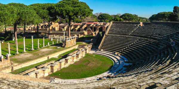 The theater of Ostia Antica