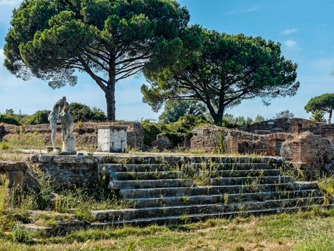 Temple of Herakles at Ostia, Antica