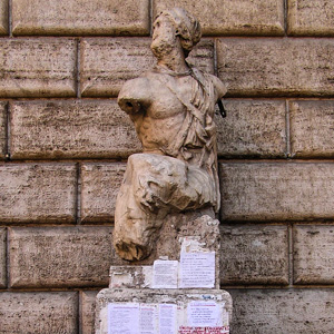 Pasquino the talking statue