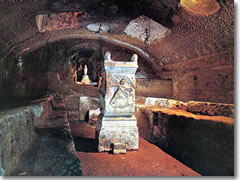 he Mithraeum under San Clemente in Rome.