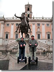 Segways on the Campidoglio in Rome