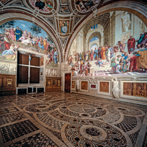 Vatican's Apartments of Leo X—the