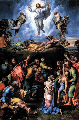 The Transfiguration (1520) by Raphael