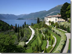 The gardens of Villa Serbelloni, Ballagio, Lago di Como