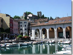 The Old Port of Desenzano del Garda, Lake Garda