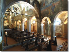 Te interior of Santa Caterina del Sasso
