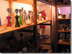 The designer housewares shop at the Forum Museum of Omegna, Lake Orta