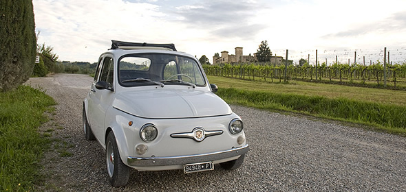 See Italy from a Fiat 500