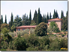 A villa you can home-swap in the CHianti region of Tuscany