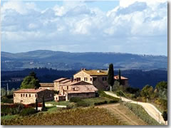 A villa for rent in Tuscany