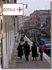 The Ospedale Civico hospital in Venice, Italy