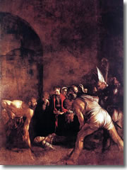 The Deposition of St, Lucy by Caravaggio (1608).