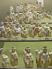 5th century BC votive statuettes dedicated to Demeter/Ceres and Kore/Persephone