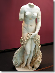 The Venus Landolina at the Syracuse Archological Museum