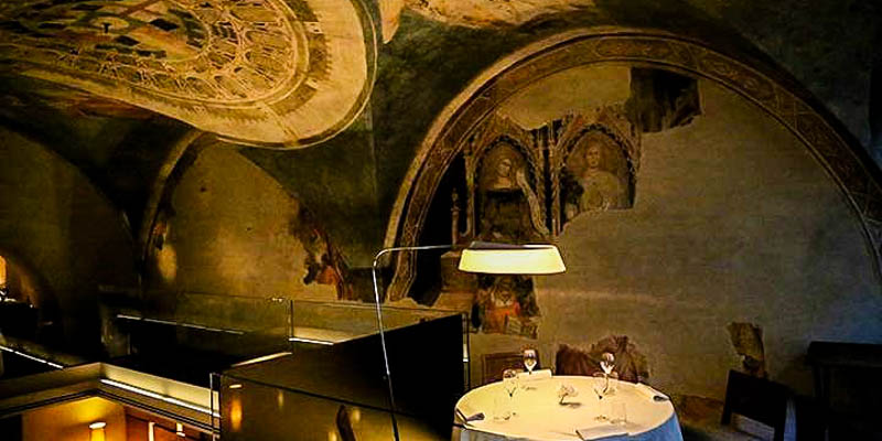Ristorante alle Murate restaurant in Florence, Italy. (Photo by Tnderfoot)