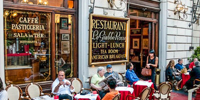 Caffe Giubbe Rosse in Florence, Italy. (Photo courtesy of Caffe Giubbe Rosse)
