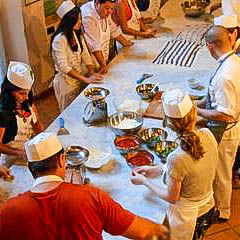 A cooking class in Florence