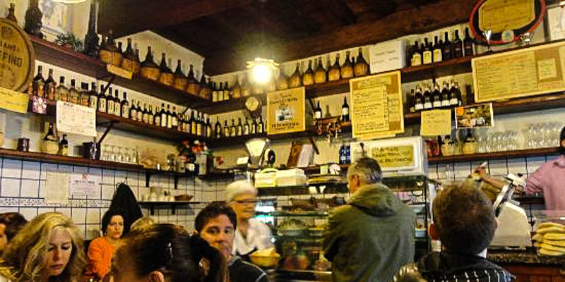 Osteria La Mescita in Florence, Italy. (Photo by TheaBianca)