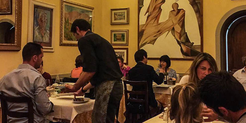 Osteria di Giovanni restaurant in Florence, Italy. (Photo courtesy of )
