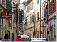 Hotels on Via Faenza in Florence