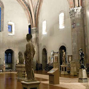 The Bargello sculpture museum in Florence
