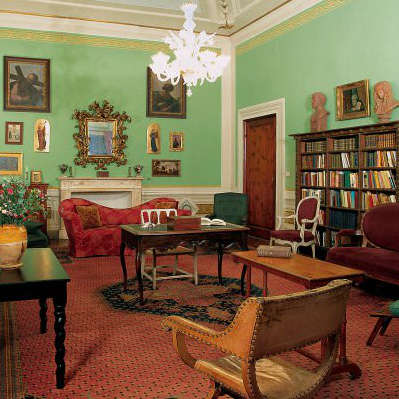 Casa Guidi, where Robert and Elizabeth Barrett Browning lived in Florence. (Photo courtesy of The Landmark Trust)