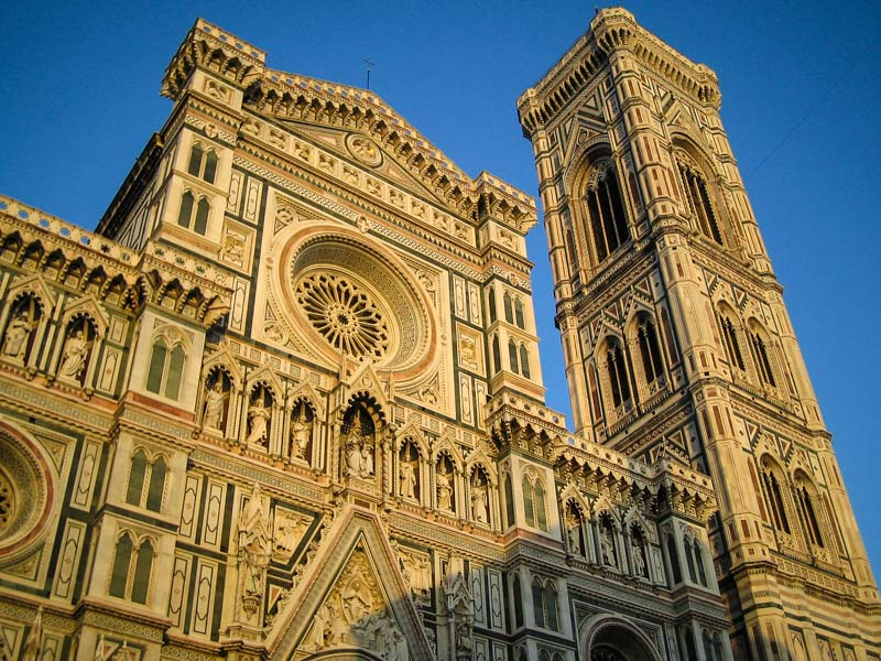 La facciata del Duomo di Firenze. (Photo by Christopher Patterson)