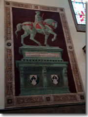"Paolo Uccello's fresco of the ""Monument"" for Giovanni Acuto in Florence cathedral"