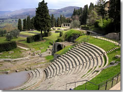The Roman Theater in Fiesole