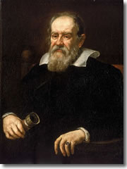 Galileo Galilei, a portrait by Justus Sustermans