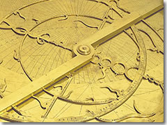 A 16th century astrolabe at Florence's Museo della Scienza