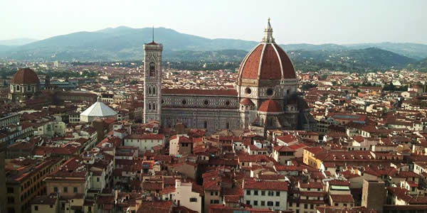 View from the Palazzo Vecchio tower