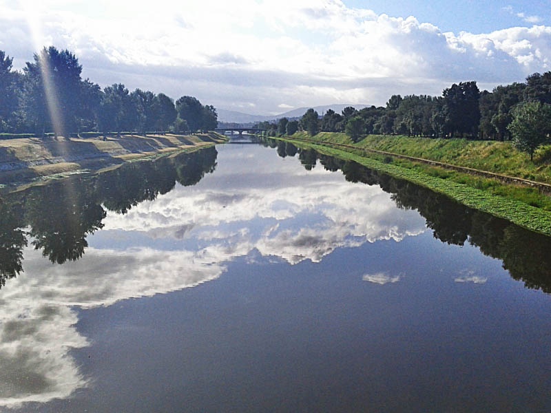 Parco delle Cascine along the Arno River in Florence. (Photo by Nikko Max)