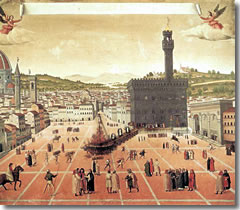 The execution of Girolamo Savaonarola
