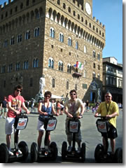 A Segway tour of Florence