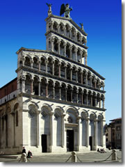 The church of San Michele in Foro in Lucca, Tuscany