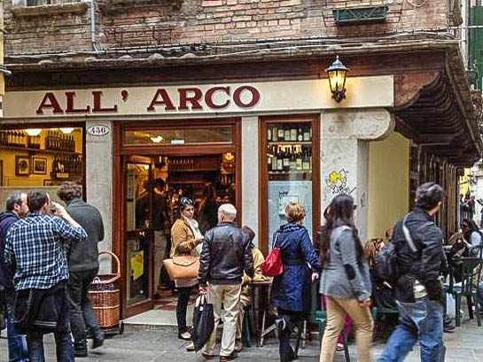 Osteria All'Arco, Venice. (Photo by anddna)