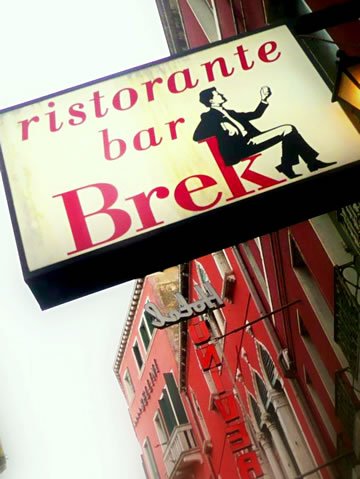 Brek in Venice. (Photo by Naomi Ibuki)